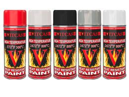 Pinturas resistentes a altas temperaturas: tipos y aplicacioness