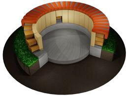 ¿Cómo construir un foso para fogatas con el uso de ladrillos refractarios?