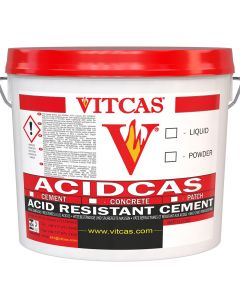 Acidcas Mortero resistente a los ácidos - VITCAS