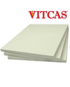 Placas de fibra de cerámica 1260 C-VITCAS Placas de Aislamiento - VITCAS