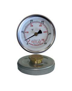Termometro de puerta para horno pizza/pan 0°C – 500°C - VITCAS