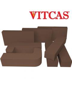 Vitcas – Ladrillos Refractarios- Marrones - VITCAS