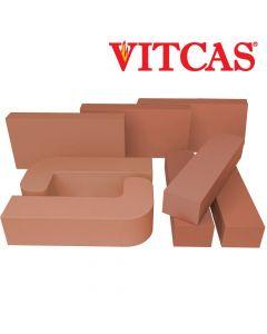 Vitcas Ladrillos Refractarios de Colores -Rojos - VITCAS