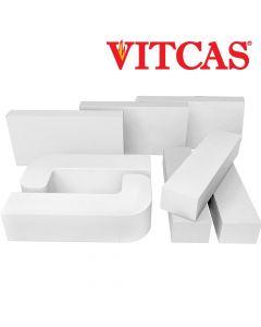 Vitcas Ladrillos Refractarios de Colores- Blancos - VITCAS
