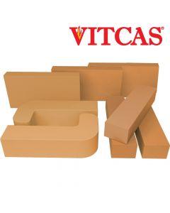 Vitcas Ladrillos Refractarios de Colores- Amarillos - VITCAS