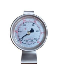 Termómetro portátil para horno de pizza-pan 0°C – 500°C - VITCAS
