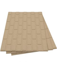 Placas de vermiculita aislantes refractarias diseño ladrillo - VITCAS