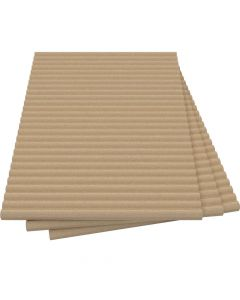 Placas de vermiculita aislantes refractarias diseño ondulado - VITCAS