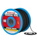 Cinta negra de fibra de vidrio-Autoadhesiva - VITCAS